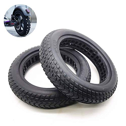 Electric Scooter Tires, 8 1-2X2 Hollow Explosion-Proof Tires, Shock Absorption and Non-Slip, No Inflation,M365,Electric Scooter Tire Accessories