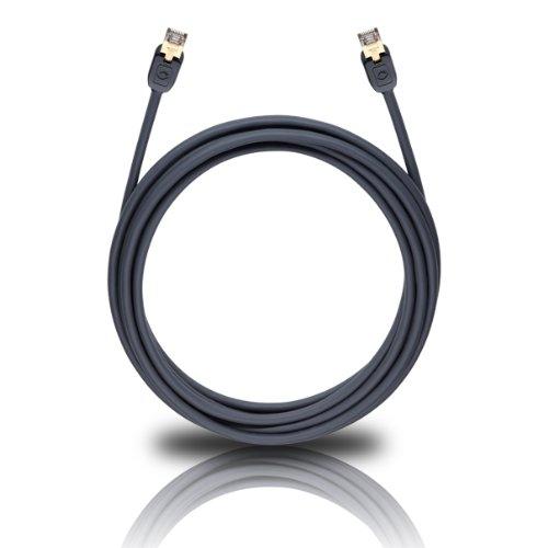 Oehlbach Stream Plus CAT-6-Netzwerk-/Patchkabel schwarz 7.50 m