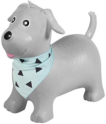 Kindsgut Hüpf-Tier für Kinder, dezente und Moderne Farben, liebevolle Details und hochwertige Qualität, inklusive Luftpumpe, Hund