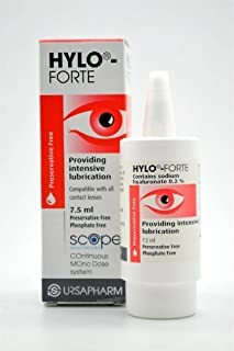 Hylo-Forte Intensive Lubricating Eye Drops 7.5ml by Scope Healthcare