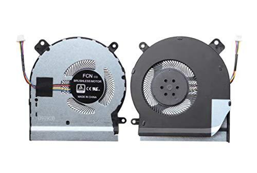 HuiHan - Ventola di raffreddamento per CPU ASUS ROG Strix SCAR II GL504 GL504G GL504GM GL504GS Series (CPU)