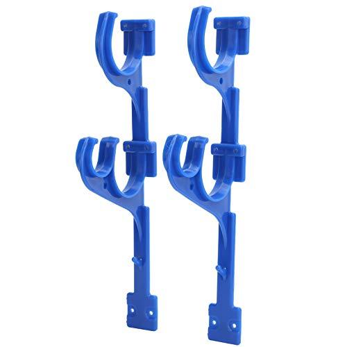 FOTABPYTI Plastic Pool Hanger Hook, Sturdy Bath Hook, ABS Hanger Easy To Install Vacuum Hose Telescoping Pole for Pool Gardening Tools
