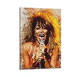 xiexun Tina Turner Poster, dekoratives Gemälde, Leinwand,