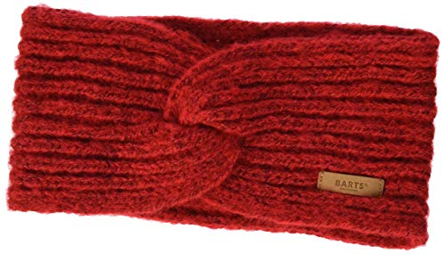 Barts Damen Desire Headband Winter-Stirnband, rot, One Size