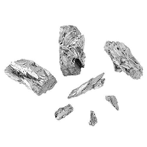 Bismuto - 100 g de bismuto Metal Lingote 99,99% Cristal puro