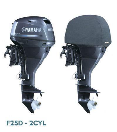 Oceansouth Außenbordmotor Halbabdeckung für Yamaha (25 HP (2CYL))