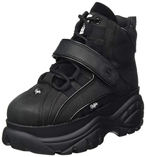 Buffalo London Damen 1348-14 2.0 V Sneaker, Black, 40 EU