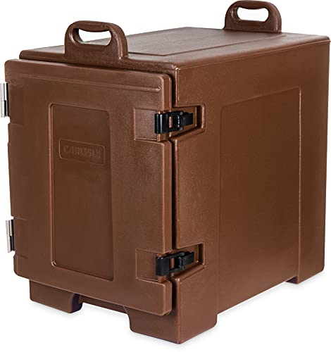 Carlisle PC300N01 Insulated Food Pan Carrier, End Loader, Brown
