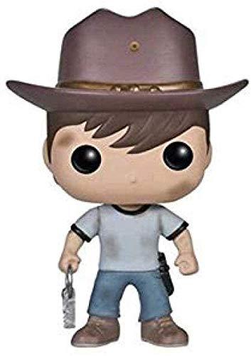 Pop TV The Walking Dead Carl Grimes 10CM Figure Toy Modle Statue
