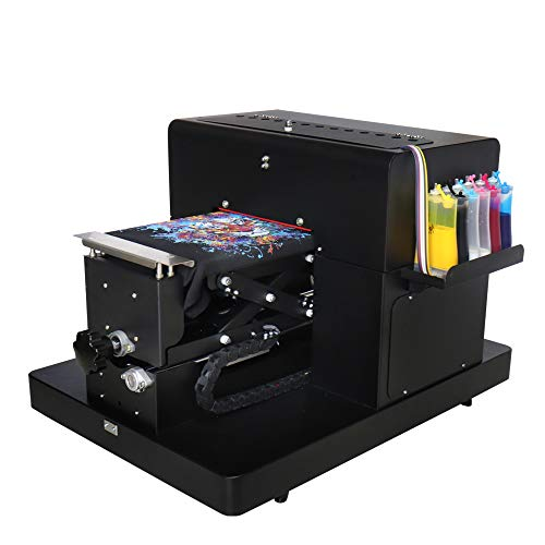 DTG Printer A4 Flatbed Printer for T-Shirt PVC Card Phone Case Printer Plastic Multi Color Printing Machine