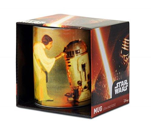 Logoshirt Star Wars - Prinzessin Leia & R2-D2 Porzellan Tasse - Kaffeebecher - farbig - Lizenziertes Originaldesign