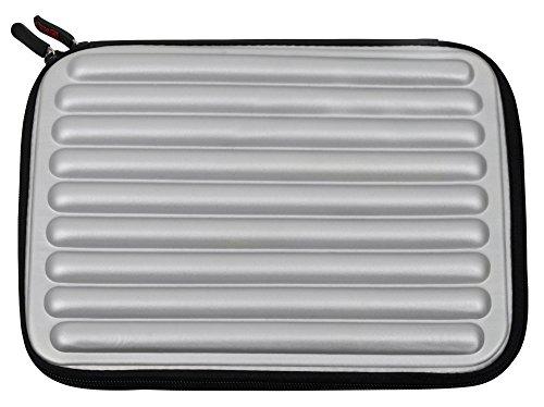 DURAGADGET Funda Gris con Espuma de Memoria Memory Foam para Portátil Lenovo Yoga 920-13IKB - ¡Protección Ideal!