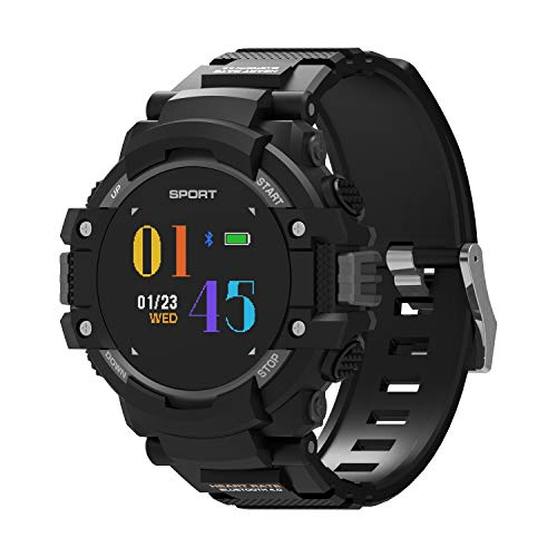 Smartwatch Bluetooth Horloges, Fitness Tracker Running, Sport Horloge Altimeter/Barometer/Thermometer Ingebouwd, GPSColor Screen, Voor Android En Ios