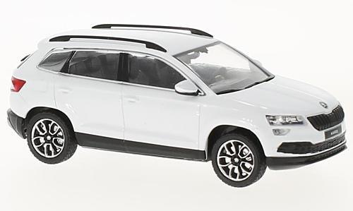 Skoda Karoq, weiss, 2017, Modellauto, Fertigmodell, I-Norev 1:43