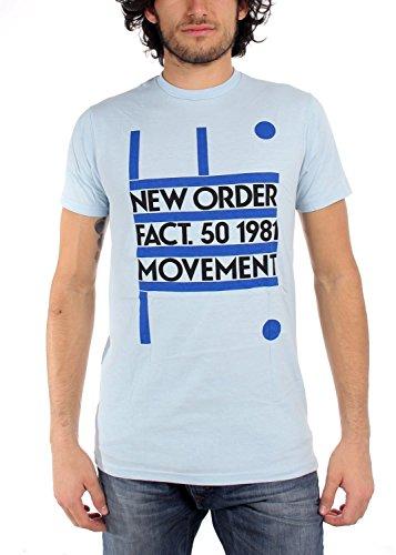 RockWaresUSA Producto 50 1981 - Camiseta de Manga Corta (Talla L)