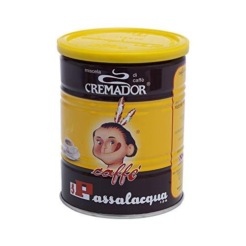 PASSALACQUA Cremador, gemahlener Kaffee in der Dose, 250 g