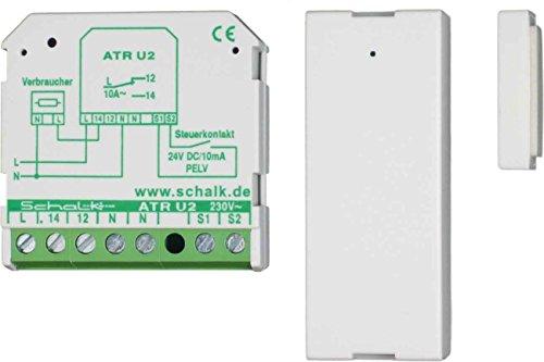 Schalk Zu-/Abluftset ZAS K2 Öffnungsmelder für Gefahrenmeldesystem 4046929401081