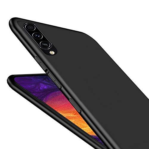 LAYJOY Funda Samsung Galaxy A50/A30s/A50s, Silicona Negro Suave Carcasa Ligera Gel TPU Bumper Case de Protectora [Antideslizante] [Anti-Golpes] Cover para Samsung A50/A30s/A50s (2019)- 6.4