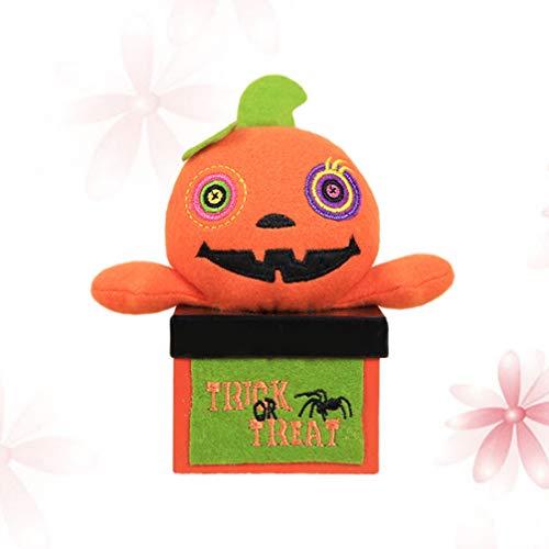 IMIKEYA Caja de Dulces de Cartón de Halloween Truco O Trato Cubo de Regalo para Fiestas Suministros