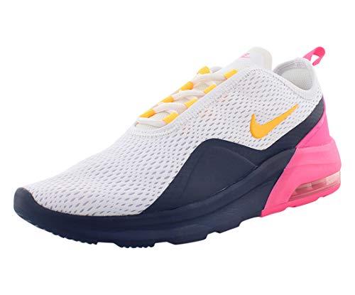 Nike Women's Air Max Motion Running Shoes (White/Laser Orange, 7)