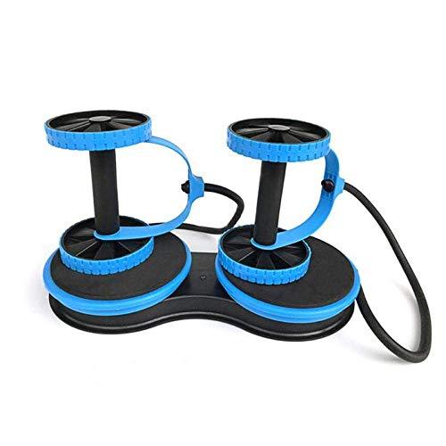 Rueda de rodillo para abdominales, multifuncional, equipo de fitness, entrenamiento abdominal, rueda, brazo, cintura y piernas.
