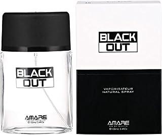 Black Out by Amare - perfume for men - Eau de Toilette, 100 ml