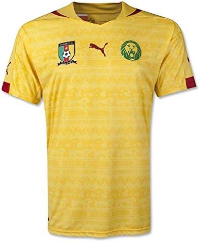 Puma Men s Cameroon Away Shirt Replica Dandelion T Shirt SM product image
