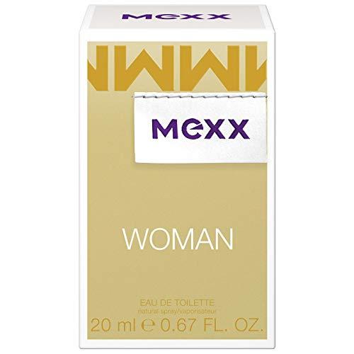 COTY BEAUTY GERMANY GMBH Mexx woman - eau de parfüm - blumig-frisches damen parfüm mit zitrone rose und jasmin - 1er pack 1 x 20ml