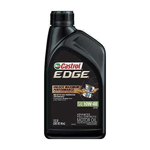 Castrol 06246 EDGE 10W-40 Advanced Full Synthetic Motor Oil