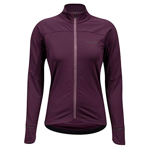 PEARL IZUMI Women's Attack Thermal Cycling Jersey, Dark Violet/Arctic Dusk, X-Large