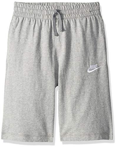 Nike Jungen Sportswear ShortsGrau (heather/dark steel grey/White) S