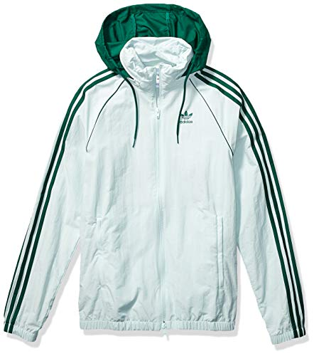 adidas Originals Men's BLC Superstar Windbreaker Jacket, vapour green, X-Large