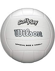 Wilson Soft Play - Balón de Voleibol para Exteriores