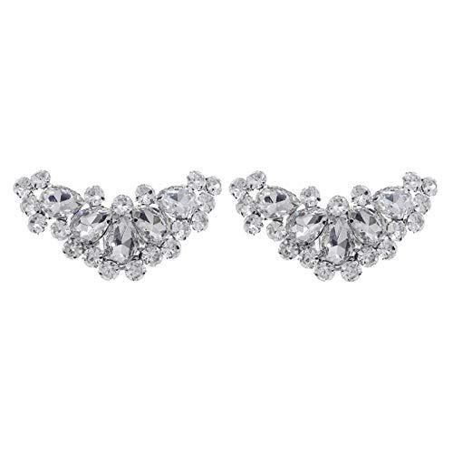 Amagogo Clips para Zapatos de Cristal con Diamantes de Imitación, Botas de...