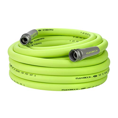 Flexzilla HFZG550YW Garden Lead-In Hose 5/8 In. x 50 ft, Heavy Duty, Lightweight, Drinking Water Safe