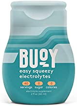 Buoy   All Natural Electrolytes   Keto, Immunity, Exercise   40 Servings   No Sugar, No Calories   Easy Squeezy Drops   Make Any Drink More Hydrating   Coffee, Beer, Wine, Water, Shakes, Tea (1 Count)