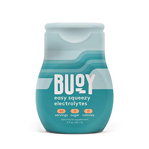 Buoy   天然 電解質   40杯分   無糖、ゼロカロリー   経口補水液   脱水症状 防止   ケト、運動、