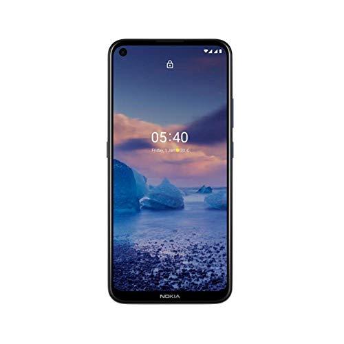 "Nokia 5.4 - Smartphone 5G 6.39"" HD+ (4 GB RAM, 64 GB ROM, Cámara Cuádruple, 48MP+2MP +5MP+2MP ,Batería,4000 mAh, Dual Sim, Android Q),Negro"