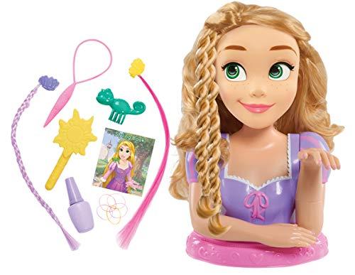 Disney Princess Rapunzel Cabeza Estilo Deluxe