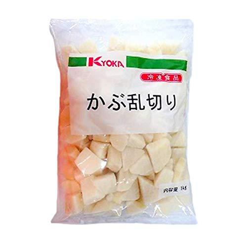 【冷凍】京果食品 かぶ乱切り 1kg 業務用 カット野菜