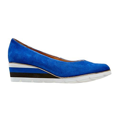 Van Dal Ariah Espadrilles für Damen, Blau - Kobalt-Wildleder - Größe: 37 EU