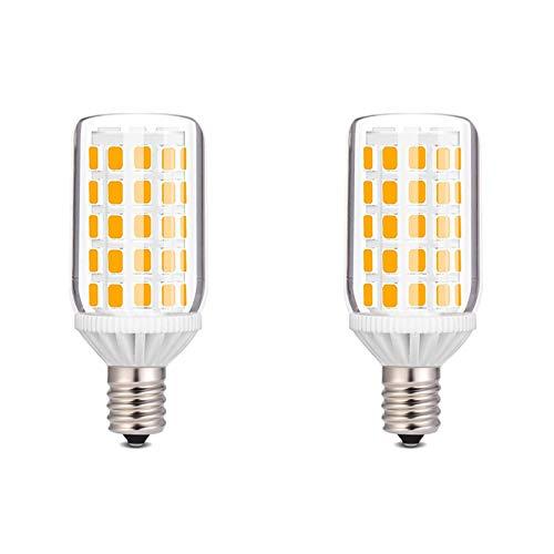 E14 LED Warmweiss 60W, LED E14 6W 600 Lumen, Ersetzt 60W Halogenlampe, Nicht Dimmbare Kleine Edison-Schraube, Tischlampe, Kronleuchter, Innenbeleuchtung, 2700K Warmweiß LED, Noobibaba 2er Pack