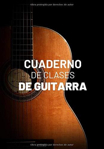 Cuaderno De Clases De Guitarra: Planificador Semanal de 52 Semanas | 105 páginas ( 18 x 26cm ) |Planifica y Organiza tus Clases de Guitarra y Mejora como Guitarrista.