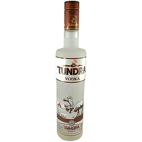 Vodka Tundra 0,7L russischer premium Wodka mit Getreidealkohol Alpha