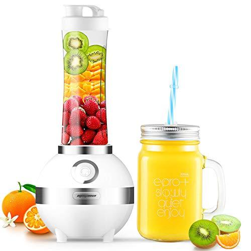 Spremiagrumi Elettrico Per Uso Domestico Mini Macchina Portatile Portatile Per Succhi Di Frutta E Verdura 600m.300ml bianco