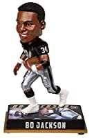 Forever Collectibles NFL Los Angeles Raiders Mens Los Angeles Raiders Bobblehead - 8 - Retired Player - Bo Jackson #34 - Special Order, Team Colors One Size