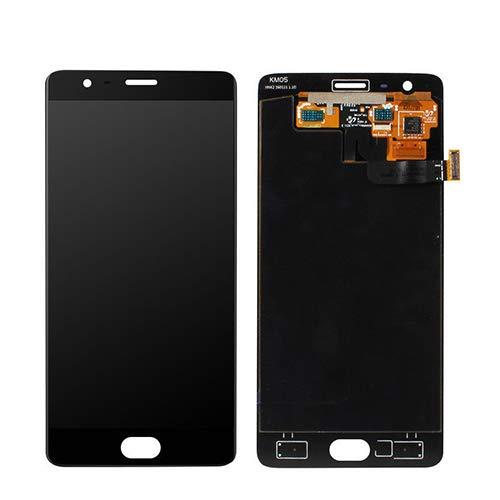 LeHang Ensamblaje de reemplazo Compatible LCD Touch Pantalla digitalizador para Oneplus Three 3 A3000 A3003 Negro
