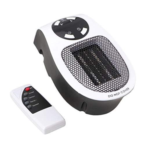 KoelrMsd Mini Calentador de Aire eléctrico con Salida de Pared, Potente Ventilador cálido, Calentador rápido, Ventilador, Estufa, radiador, Calentador de habitación