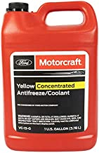 Genuine Ford Fluid VC-13-G Yellow Concentrated Antifreeze/Coolant - 1 Gallon