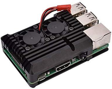 Digitalkey Armor - Carcasa de aluminio para Raspberry con 2 ventiladores
